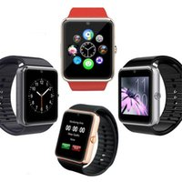 Wholesale Bluetooth Smartwatch GT08 Smart Watch for iPhone S Samsung S4 Note3 HTC Android Phone Smartphones Android Wear pk GV18 DZ09