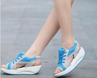 Wholesale Fashion Women Lady Sports Sandals Summer Girl Hollow Out Beach Casual Sandals Golf Shoes A024