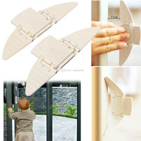 Wholesale 2PCS Security Sliding Door and Window Lock for Push pull Door Child Safety L00061 FASH