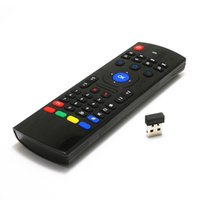 Wholesale Air Mouse G Motion Sensing Air Mouse keyboard remote For MX3 MXQ M8 M8S M95 S905 STB Android TV BOX up