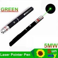 Wholesale 2in1 Star Cap Pattern nm mw Green Laser Pointer Pen Star Head Laser Kaleidoscope Light mw Laser Pen LED Laser Pointers Green Light