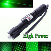 Wholesale Hot New High Power Miles Range nm Green Laser Pointer Light Pen Visible Beam High Power Lazer D050