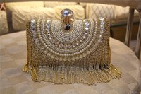 beaded key chains - 2015 Evening bag Rhinestone Clutches Crystal Day Clutch Wallet Purse for Wedding Party Banquet