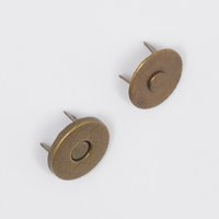 Wholesale sets mm Bronze Magnetic Snaps Bag Purse Sew On Magnetic Snaps Buttons for pureses