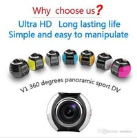 Wholesale HDKing V1 hot selling degree mini sport camera action camera wifi waterproof degree camera
