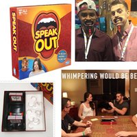 Wholesale Speak Out Game Best Selling Board Game Interesting Party Game for christmas for hallowmas Of with high quality By SFexpress