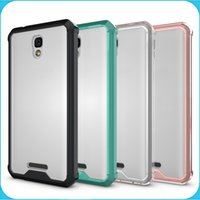 alcatel accessories - Alcatel POP Case Transparent Clear Hybrid Bumper Shockproof Back Cover Skin Phone Accessories For Alcatel POP
