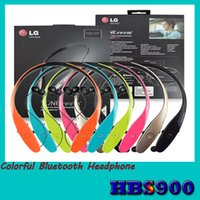 Cheap HBS900 LG Tone Bluetooth Headphone Wireless Earphone HBS 900 Stereo Sports Retractable Headsets for iphone 5 6 samsung S5 S6 HTC smart phone