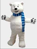 bear theme - hot sale High quality Polar Bear mascot costume custom fancy costume anime kits mascotte theme fancy dress carnival costume