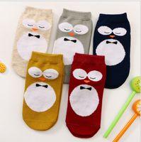 Wholesale 2016 New Kids Lovely D Owl Socks Baby Boy Girl Cotton Leg Warmers stocking Children Summer Socks Boys Girls Fashion Socks Size