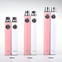 al por mayor precios al por mayor para las baterías del ego-precio al por mayor E Cig EVOD USB Baterías pasarela 510 de rosca para el cigarrillo 1100mAh Batería electrónica 9 colores con cargador USB ego
