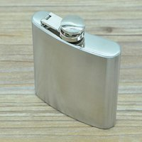 Wholesale hot sale ounce stainless steel hip flask alcohol flask pocket flask wine flask liquor flask