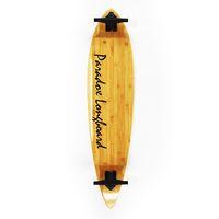 bamboo longboard skateboard - Drop Shipping New Game Complete Bamboo Pintail Skateboard plys Bamboo plys Fiber Glass Longboard