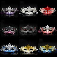 abs club - Women Halloween Party Masks ABS Resin Metal Masquerade Masks Delicate Styles Party Half Face Masks for Bar Club Dancing Show