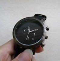 Wholesale 6 Pointer MVMT Hot Brand Men Watches New Cool Men leather Strap Military Sport Quartz Analog Watches