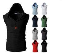Wholesale 2016 Hot sell Men Vest Fashion Men Outwear Casual Men Tops Popular Men Coats colors Vest Brand Men Clothing New Arrive Outwear