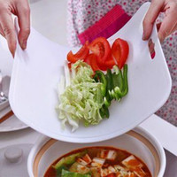 Wholesale Cutting Board Kitchen dining utensils Kitchen wearable soft bendable classification antibacterial cutting board cutting plate of sushi
