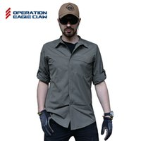 Wholesale Operation Eagle Claw Outdoor sport breathable terminator tactical shirt men s quick dry military shirt