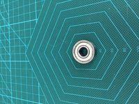 Wholesale Reprap Delta Kossel K800 Motor bearings MR608ZZ For DIY D printer High Precision bearing
