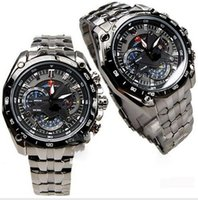 Cheap AAA Men Sport Swiss Wristwatches Movement Japan Gentleman Fashion Quantz Watches Red Bull Limited Edition Racing Ap EF-550RBSP-1AV 7AV 2016