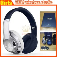 Wholesale AAA KITH Wireless Used Beats studio Wireless Headphones Noise Cancel Bluetooth Headphones Headset