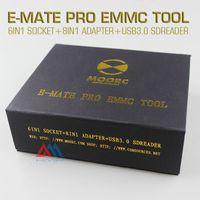 bga cable - New E MATE pro box Emate box E Socket all in one SUPPORTS BGA BGA BGA BGA CHIP cable for jtagbox