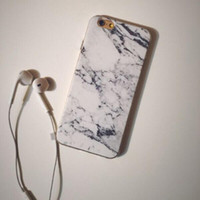 granite - 2016 pieces Granite Marble Texture Soft Shell TPU Phone Case Cover Skin For iPhone5 Plus
