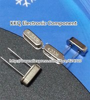 Wholesale MHZ M S HC S DIP Crystal Resonator Sample kit Passive crystal Quartz Crystal