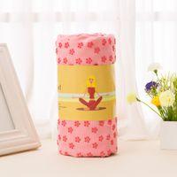 Wholesale Professional Yoga Towel Nonslip Absorb Water Nonslip Yoga Blankets PVC Sport Mats China Shop Online