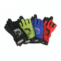 Wholesale High Quality Fishing Gloves Anti Slip Outdoor Sports Slip Resistant Cyling Gloves Mitten Fishing Gear Pairs
