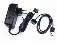 asus charger cord - AC Wall Plug Charger USB Data Sync Cable Cord for Asus Eee Pad Transformer TF101