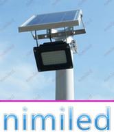 54pcs nimi1036 IP65 de calle solar Luces Luz del punto 3528 Proyector LED Hight brillante lámpara al aire libre Jardín Steet Proyecto de iluminación de la cartelera