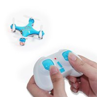 Wholesale DHL Shipping Cheerson CX Ghz CH Axis GYRO Mini Nano RC Quadcopter UFO Drone Aircraft With LED Light