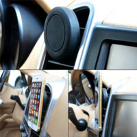 Wholesale New Auto Car Holder Mini Air Vent Outlet Mount Magnet Magnetic Phone Mobile Holder Universal For iphone Samsung Car Holder