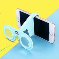 Wholesale Subminiature Pocket VR Folding Virtual Reality Glasses VR Glasses D RVR Box Mini VR Glasses
