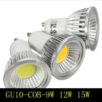 E27 / GU10 / GU5.3 / MR16 AC12 / 85-265V 3-7W haut COB lumineux LED Spotlight ampoule réel Watt Lampe Bombillas cool blanc chaud