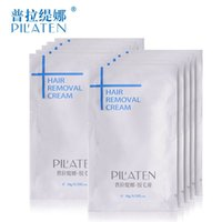 Wholesale 400pcs pilaten g Painless Depilatory Cream Legs Depilation Cream For Hair Removal For Armpit Legs Hair Removal Cream
