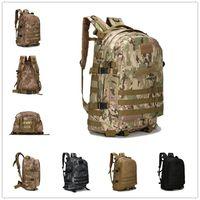 Wholesale 40L Multi Color D Outdoor Waterproof Trekking Tactical Backpack Camping Military Sports Rucksacks Backpacks Classic Bag