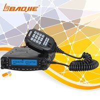 air band transceiver - BAOJIE Dual Band Mobile Car Radio Fm Transceiver VHF UHF400 Air band RX AM109 channel High power W