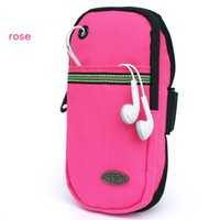 Wholesale Running mobile phone arm package men and women movement mobile phone package arm with arm bag fitness wrist pack