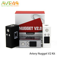 artery function - Artery Nugget V2 Kit mAh Battery wtih ml Atomizer TCR Function Support w Out Put TM VM PM Mode