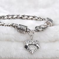 best sister bracelets - 2016 Family member bracelet Aunt Believe Best Friend Daughter Faith Grandma Hope Mimi Mom Nana Niece Nurse Sister Teacher Mother day gift