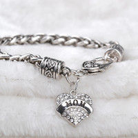 best gifts mom - 2016 Family member bracelet Aunt Believe Best Friend Daughter Faith Grandma Hope Mimi Mom Nana Niece Nurse Sister Teacher Mother day gift