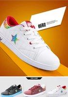 b logo design - New Arrived Men Leisure Skateboard Antiskid Wearable Rubber White outsole Elegant design Sneaker with Classic Star Logo