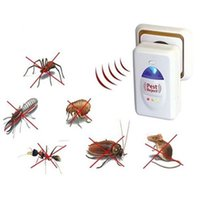 Wholesale Brand New Ultrasonic Pest Repeller Mosquito Expeller For All Kinds Of Insects Pc FG15334