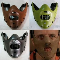 Wholesale CM mask funny toy The novel Hannibal lecter mask Halloween gifts for child HT429