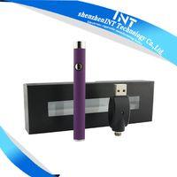 Wholesale Slim vape battery button push mah mah battery bud o pen cartridge oil vaporizer cartridge e cig battery for cbd pen int03