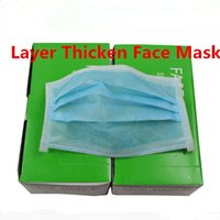 Wholesale Disposable Thicken Face Masks Non woven Health Dust Proof Anti fog Haze Antibacterial Fresh Low Carbon High Efficiency Filter box