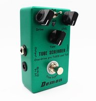 Wholesale United together Ibanez TS9 and TS808 Tube Screamer Guitar Overdrive in true bypass