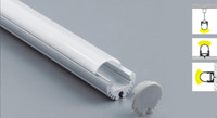 aluminum industrial extrusion - 2m x20x20mm Newest round led aluminum extrusion led profile for led strip suspended light profile